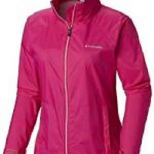 Columbia Women's Adjustable Waterproof Rain Jacket
