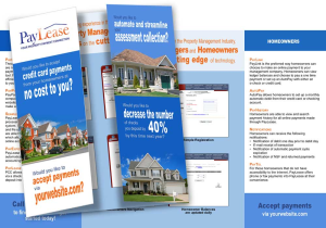 Business Brochures Designed by Malane Newman