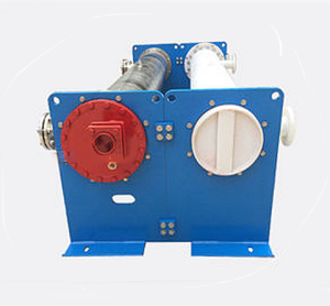 SUS304 Water Cooled Heat Exchanger, Shell PVC, Corrosive Resistant