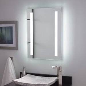 Curie Lighted Mirror with Tunable LED