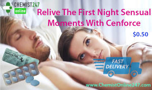 Use Cenforce To Boost Up Erection During Lovemaking Sessions