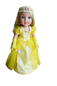 Mybrittanys-Belle Outfit For Wellie Wishers Dolls
