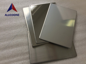 ALUCOONE 2B Nature 304/3016 Stainless Steel Composite Panel