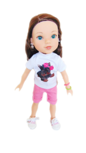 American Girl Doll Clothes For Wellie Wishers Dolls