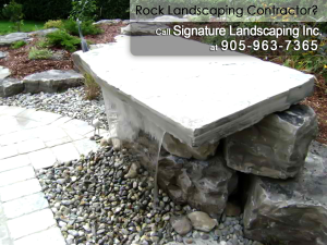 Rock Landscaping Contractor Sheffield