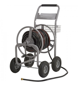 Strongway Garden Hose Reel Cart_Holds 5/8in x 400ft Hose
