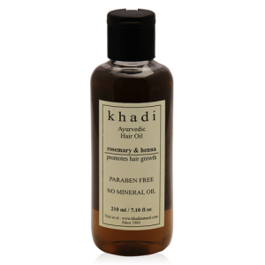 Khadi Henna Rosemarry and Amla Hair Growth Oil