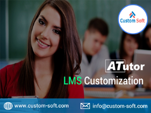 Customized LMS Development in India by CustomSoft