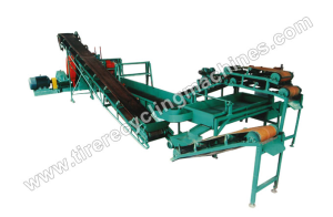 Small Scale Tire Recycling Line