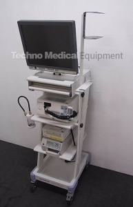 used Olympus CV-150 and GIF-XP150N Endoscopy set for sale (technomedicalequipment.com)