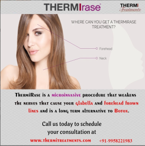 Thermirase treatment for Forehead, Neck