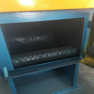 Steel Belt Tumblast Machine, Deburring