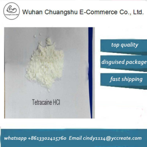 Local Anesthetic Drugs Tetracaine Hydrochloride White Crystalline Powder