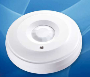 Ceiling mounted wireless motion sensor, PIR detect