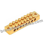8 Way Brass Neutral Links