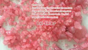 BK-EBDP 99.7% High Purity Pink Color Customize xiongling@aosinachem.com