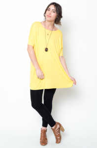 ballet sleeve tunic