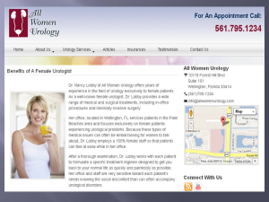 All Women Urology Treats Urinary Tract Infection