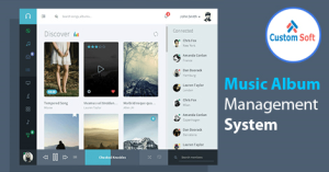 Music Album Management System by CustomSoft