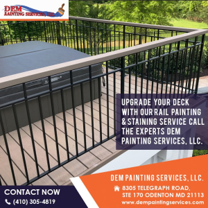 Deck Staning Service