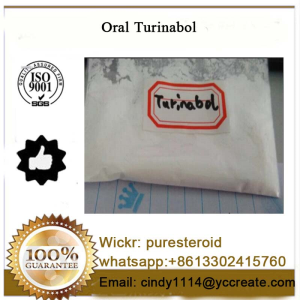 Oral Turinabol Anabolic Steroids 4-Chlorodehydromethyltestosterone whatsapp+8613302415760