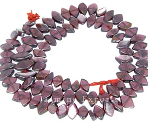 Garnet Gemstone Beads, Wholesale Faceted Garnet Beads