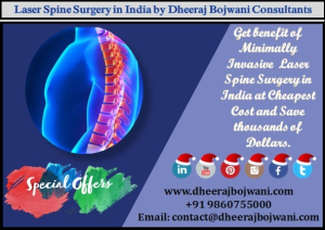 Laser Spine Surgery India patient-friendly technique for quality healthcare services