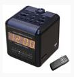 Audio & Video Alarm Radio Clock DVR Hidden Cam, Ultra High Res. 540, up to 32GB