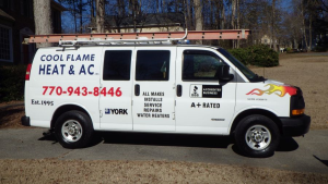 heating and air in Powder Springs