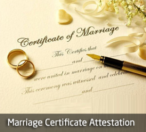 Marriage Certificate Attestation India | Personal Certificate Attestation