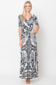 Buy online long wrap maxi dresses for women on sale at caralase.com