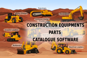 Heavy Machinery Equipment Parts Catalogue Software