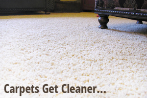 Carpets Get Cleaner
