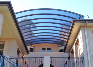 Polycarbonate Roof Work