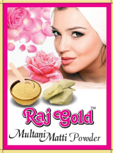 Raj gold multani mati  powder 50gm