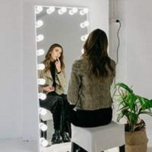 Hollywood Full-Length Vanity Mirror