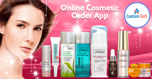 Online Cosmetics order app by CustomSoft