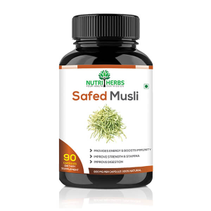 Best Safed Musli capsules For Men
