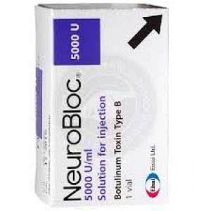 BUY NEUROBLOC 5000 IU BOTULINUM TOXINS TYPE B