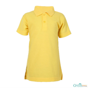 Yellow Girls School T-shirt