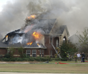 Residential fire restoration services