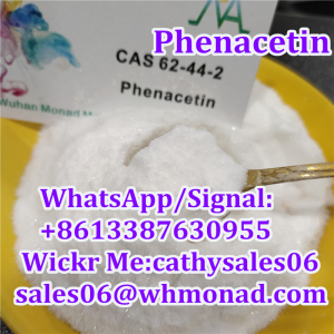 Local Anesthetic Drug Shiny Phenacetin Powder CAS 62-44-2 with Safe Shipping