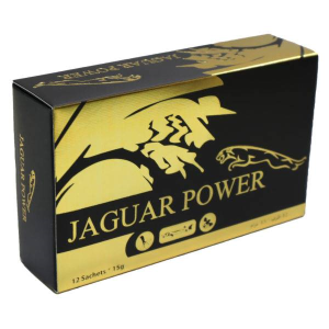 JAGUAR POWER HONEY 15g Sachets X 12 Count