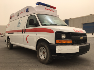 Chevrolet Express Van Ambulance