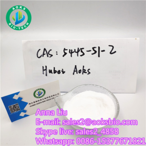 AOKS Provide 1,1-Cyclobutanedicarboxylic acid with top quality CAS 5445-51-2, sales2@aoksbio.com