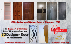 3D Door Desiner& Manufacturer in Singapore