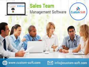 Sales Team Management Software in India by CustomSoft