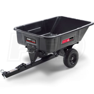 Ohio Steel 10 Cubic Foot Poly Swivel Dump Cart (180 Degree Dump)