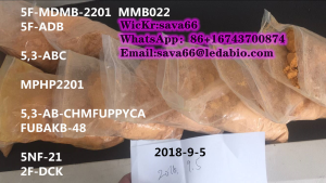 5F-MDMB-2201 Factory supply Pure research chemicals Powder orange 99.9%