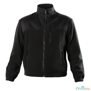 Black Turtleneck Fireman Jackets